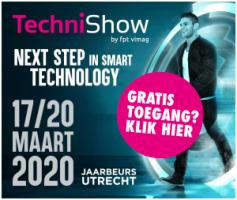 TECHI SHOW 2020 17 t/m 20 Maart